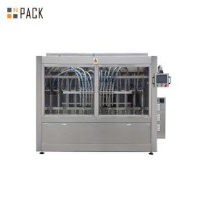 PLC კონტროლის ავტომატური პასტის შემავსებელი მანქანა 250ML-5L თხევადი საპნისთვის / ლოსიონი / შამპუნი
