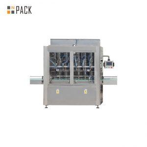 250ML-5L პესტიციდების თხევადი შევსება და გადასაფარებელი მანქანა ხაზის სტაბილური საწინააღმდეგო კოროზიული
