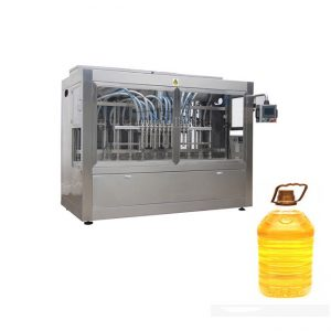 Pet Bottle Paste Filling Machine შეფუთვის მანქანა 350ML-5L სამზარეულო ზეთისთვის